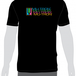 Mu-Tron Black Delay Trails T-Shirt