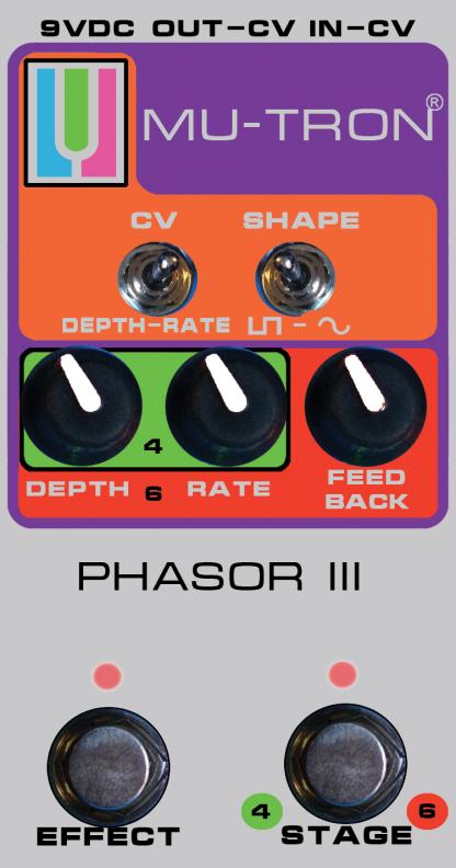 Mu-Tron Phasor III